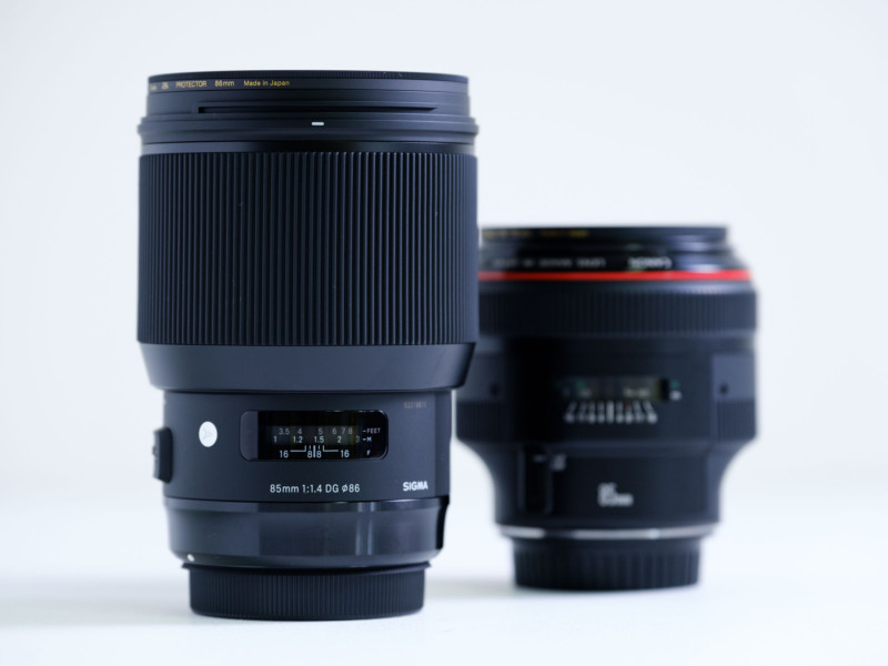 SIGMA 85mm F1.4 Art & 135mm F1.8 Artレンズ購入